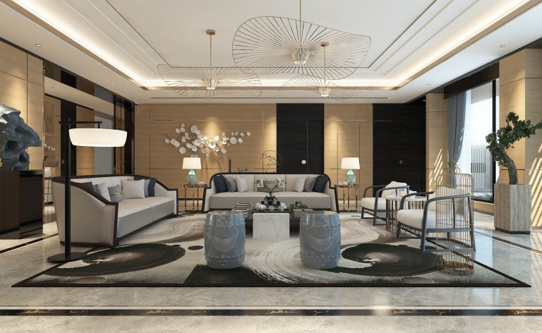 9 sets of new Chinese style design renderings, want to appreciate the Chinese style decoration can refer to