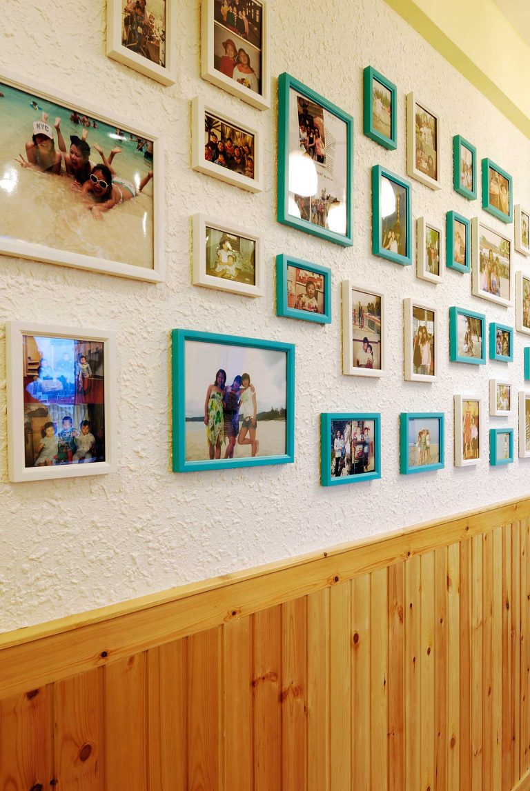 The design of 29 kinds of home-use photo walls