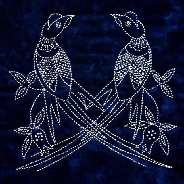 Simple straight needle embroidery,Suitable for novice collection exercises
