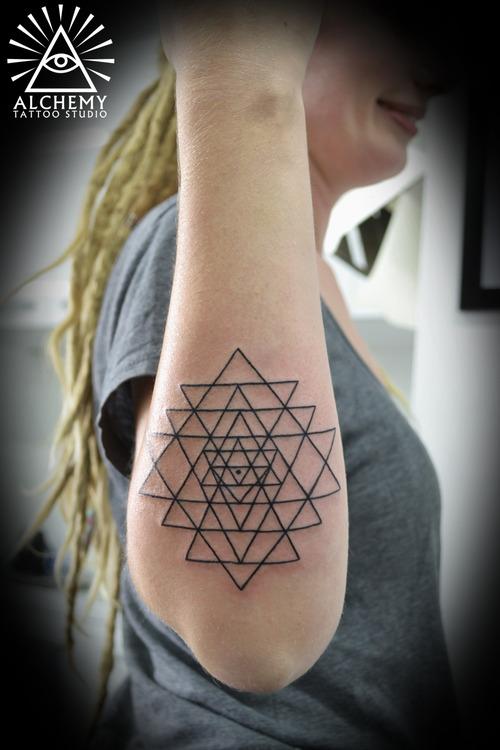 46 beautifully shaped geometric tattoos