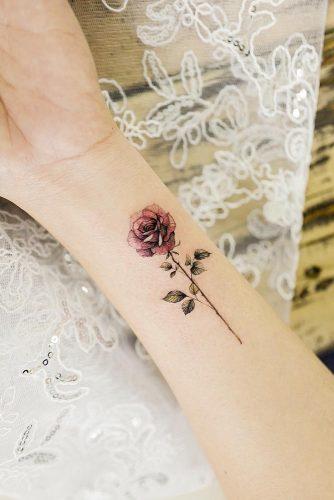 Tattoo single rose Rose Tattoo