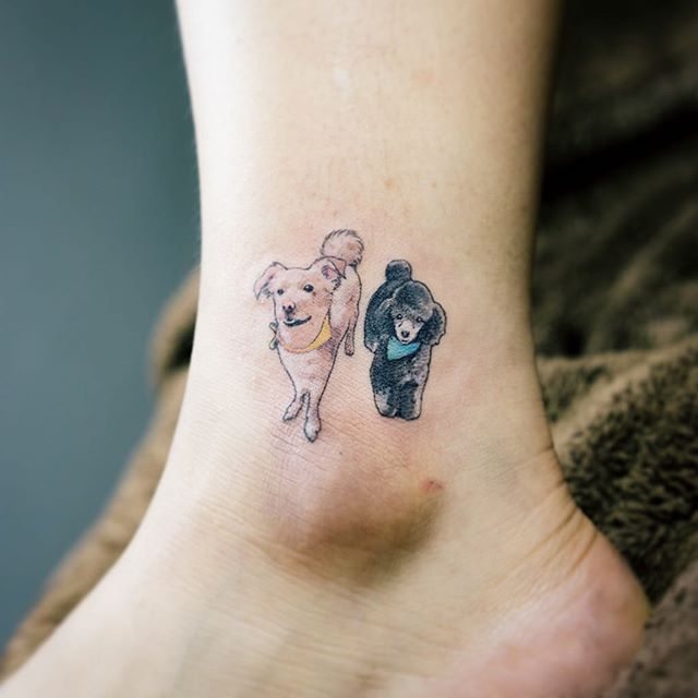 Dog Tattoo Designs And Pictures