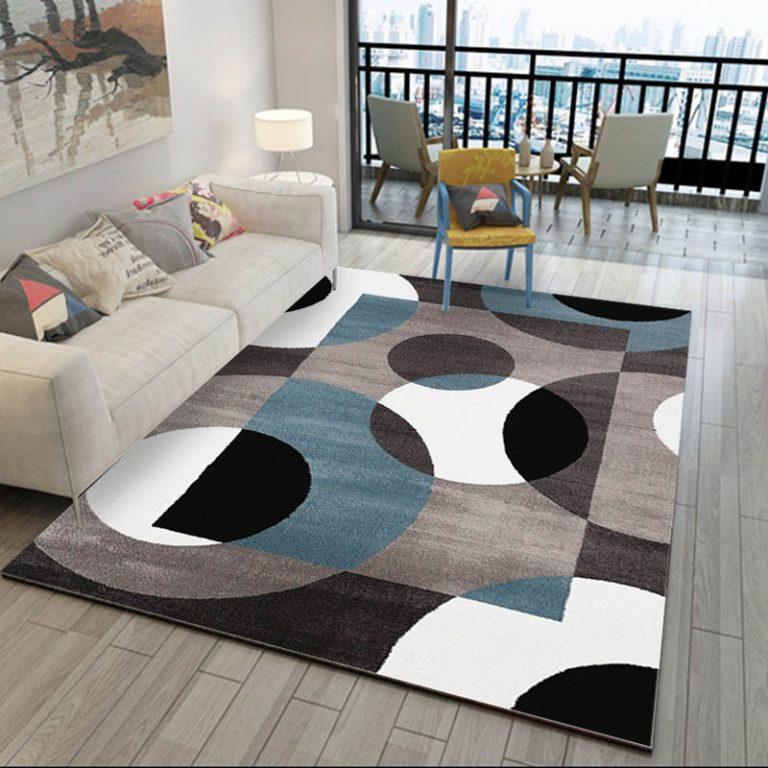 45 living room carpet decoration