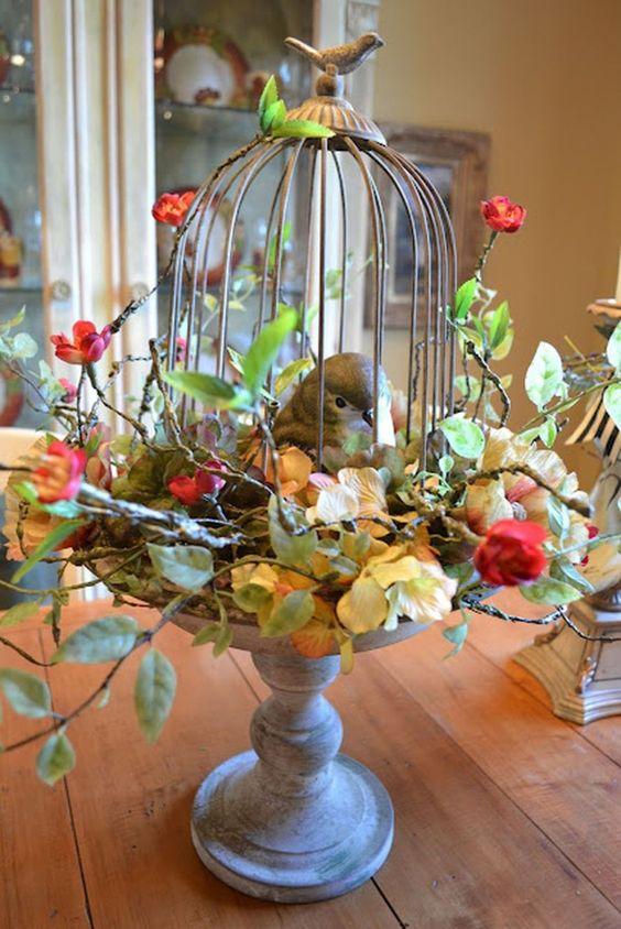 Living room landscaping decoration