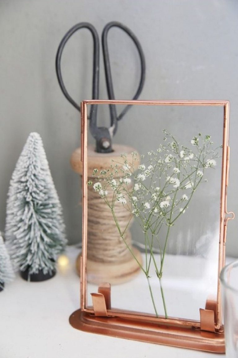 DIY Pressed And Dried Florals For