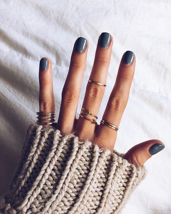 Most Sexy Dark Nails Design