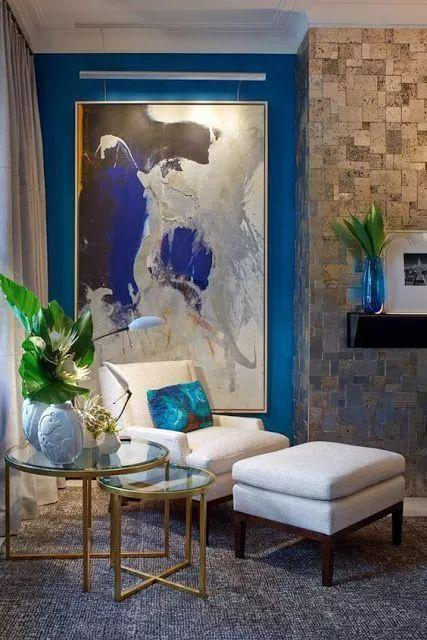 Decorative painting layout and design