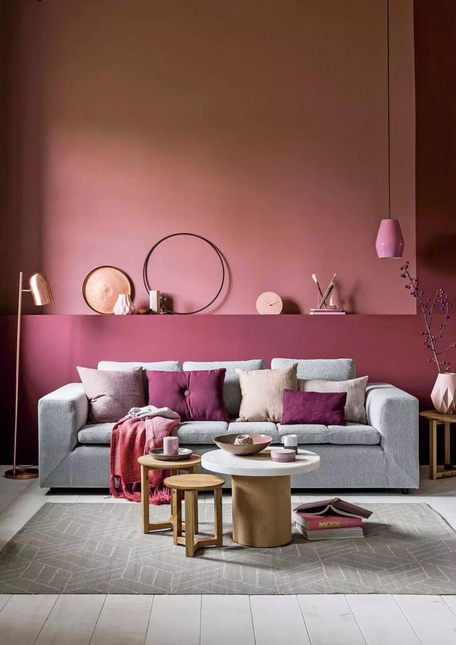 43 pink living room case sharing!