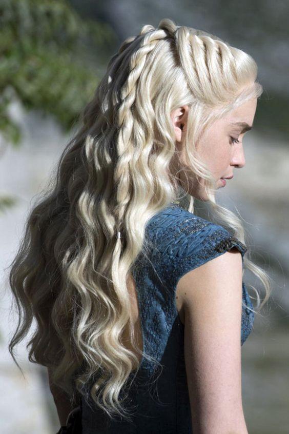 Daenerys Targaryen in Game of thrones final season's hair tutorial