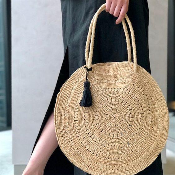 Diy woven handbag